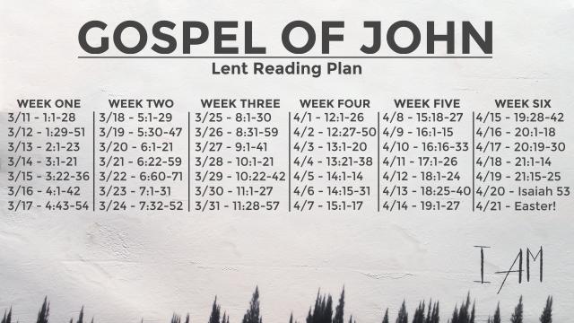 GospelOfJohn-ReadingPlan